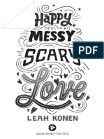 Happy Messy Scary Love - Chapter Excerpt