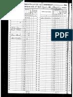 1850 Census- Andre Deslondes Slave Records