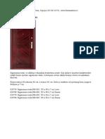 Katalog vrata 2015