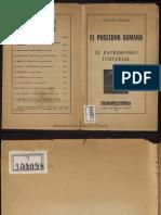 Anselmo Lorenzo - El poseedor romano, patrimonio universal 31 pp.pdf