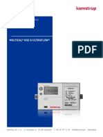 MULTICAL® 602 - Installation and User Guide - Polski