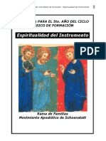 Programa 5 a o Cbf Espiritualidad Del Instrumento