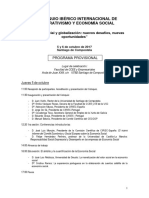 CIRIEC Programa IX Coloquio Iberico USC Xunta