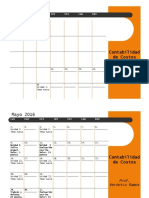 Contabilidad de Costos. Cronograma Modificado