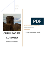 CHULLPAS DE CUTIMBO -RESTAURACIÓN DE MONUMENTOS - 2.docx