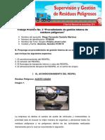 Trabajo Práctico No. 2 Procedimiento de Gestión Interna de Residuos Peligrosos