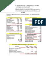 Teste de Contabilidade Financeira