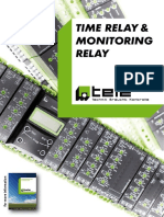 Time Relay Monitoring Relay Eng