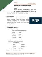 2. Memoria Desc - Arquitectura