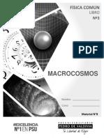 Libro N° 3 Física Común Macrocosmos 2018