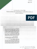 Ullmann Walter, Principios de Gobierno y Política en La Edad Media, CAP 2 y 3