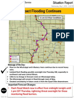 May 1st, 2019 National Weather Service Quad Cities Situation Report