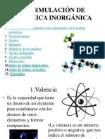 Formulacin de Qumica Inorgnica