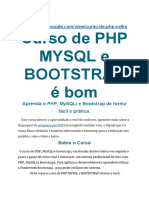 Curso de Php Mysqli Bootstrap