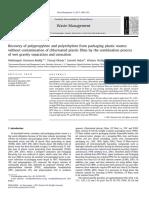 Polipropileno y Polietileno Reciclaje