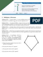 2019 Nível 1 Lista 02 Multiplos Divisores Enunciados v01