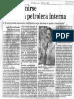 Edgard Romero Nava Debe Definirse Politica Petrolera - El Nacional 22.06.1985