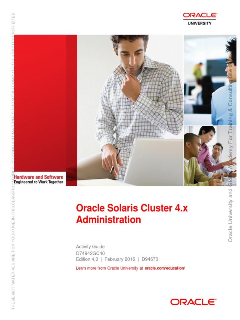 Oracle solaris certification