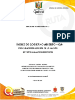 Quibdó Informe Seguimiento Iga 2015