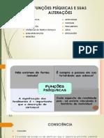 Funções Psíquicas e Suas Alterações