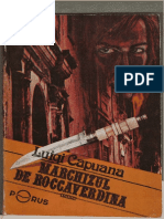 Luigi CAPUANA- Marchizul de Roccaverdina 1991