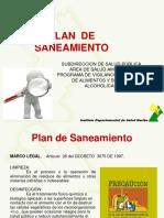Plan de Saneamiento Alimentos Idsn 2012