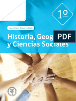 Historia Geografía y Cs 1º Medio