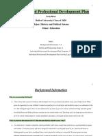 ed 112 individualized professional development plan