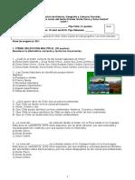 Prueba 5 Zonas Naturales de Chile n. Grande, Chico y Zona Central