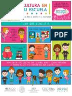 Infografía Cultura en Tu Escuela