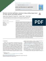 Corrección de La Asimetría y Evaluación de La Calidad de Las Imágenes de Plántulas de Conexión Basadas en El Operador Canny y La Transformada de Hough