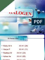 Halogen Kimia Ppt