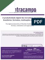 A produtividade digital dos torcedores de futebol brasileiros