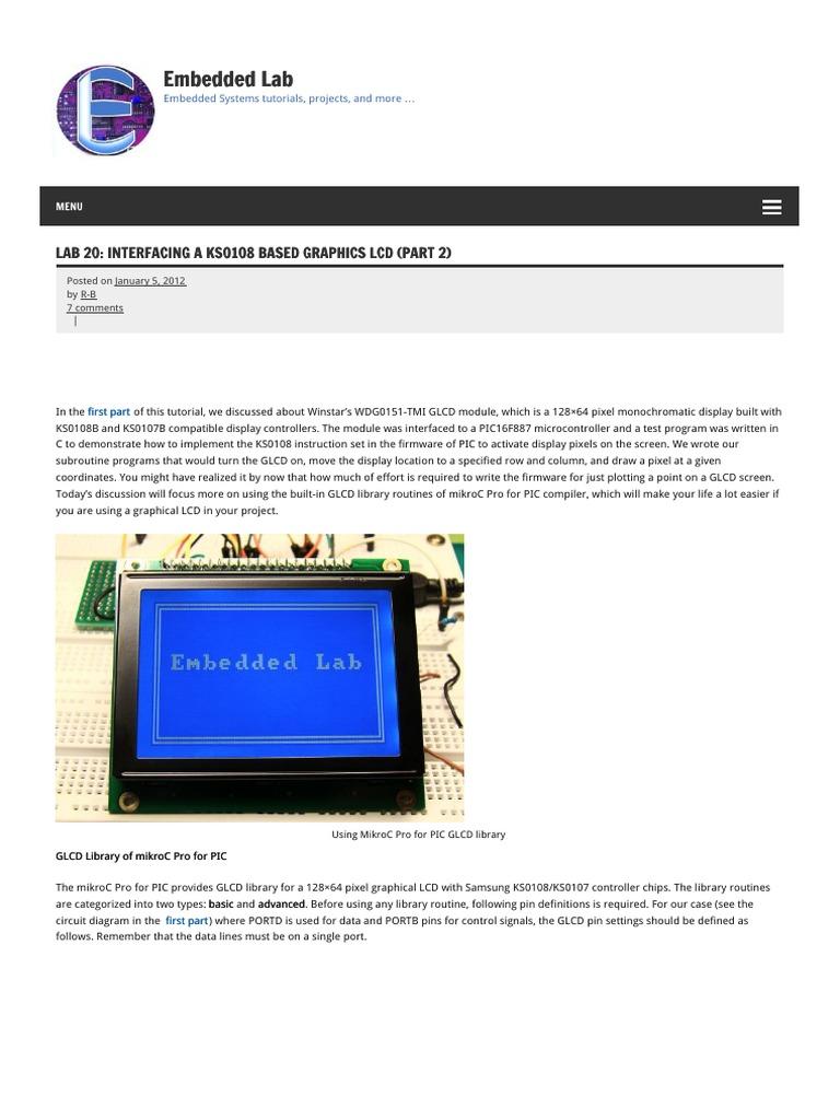 Embedded Lab Embedded Lab