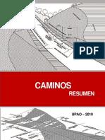 Resumen Caminos Upao 2019
