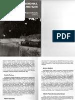 Fronteras Memorias Artes y Archivos-Medi