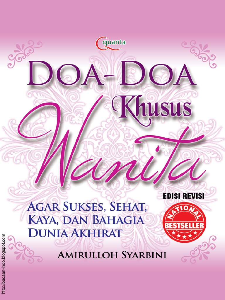 Doa Doa Khusus Wanita Pdf