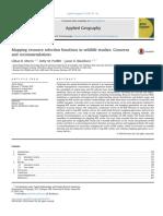 Mapeo de las funciones de selección de recursos en los estudios de vida silvestre_ preocupaciones y recomendaciones.pdf