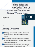 Aud15_ppt_14 Audit of the Sales and Collection Cycle Tests of Controls and Substantive Tests of Transactions