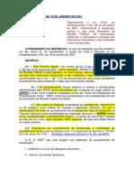 DECRETO Nº 3.724,  DE 10 DE JANEIRO DE 2001 - Regulamente LC 105.docx