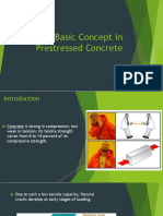 1 Basic Concept in Prestressed Concrete