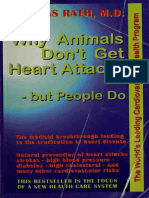 Why Animals Don't Get Heart Attacks-- But - Rath, Matthias, M.D PDF [Pauling-Rath Therapy Protocol]