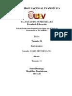 Formato Portada Universidad Nacional Evanvélica