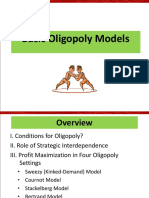 Basic Oligopoly Model
