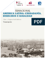Discurso de Eugenio Raul Zaffaroni