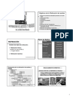 REFINACIÓN. Objetivos de La Refinación de Aceites. Tipos de Refino Físico TRATAMIENTO PREVIO. Existen Dos Tipos de Refinación