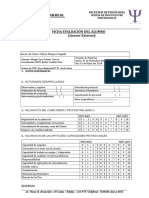 Ficha de Evaluacion - Organizacional