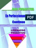 Liderazgo - Proactivo