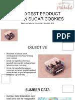 Marketing Blind Test Cookies