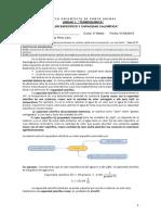 Guía 1- Unidad 1 - Calor específico y capacidad calorífica